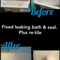 fixed-leaking-bath-seal-retile
