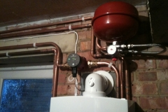 Pipework Alteration and New Boiler Install